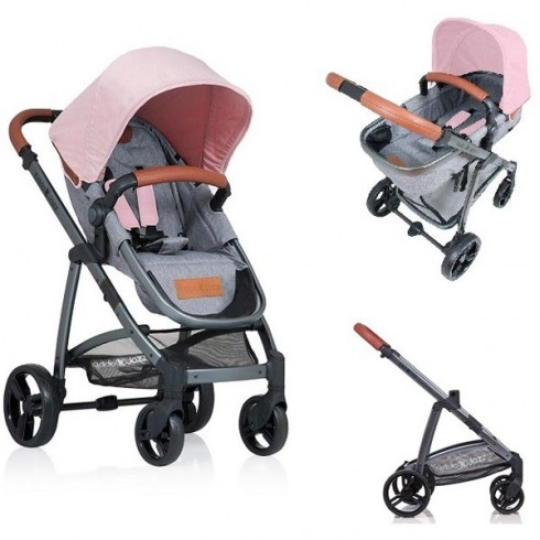 Carucior Kiddo Jazz rose