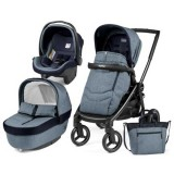 Carucior Peg Perego Black Mat Team 3 in 1 horizon