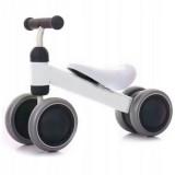 Tricicleta fara pedale Ecotoys JM-118 alb