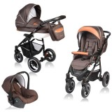 Carucior Vessanti Crooner 3 in 1 brown