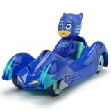 Masina Dickie Toys Eroi in Pijamale Cat-Car cu figurina