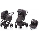 Carucior Fillikid Panther 2 in 1 grey melange