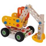Set constructie din lemn Eichhorn Excavator 180 piese {WWWWWproduct_manufacturerWWWWW}ZZZZZ]