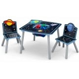 Set masuta si 2 scaunele Delta Children Space Adventures