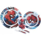 Set pentru luat masa Lulabi 5 piese Spider-Man