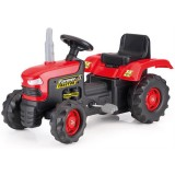Tractor cu pedale BabyGo red