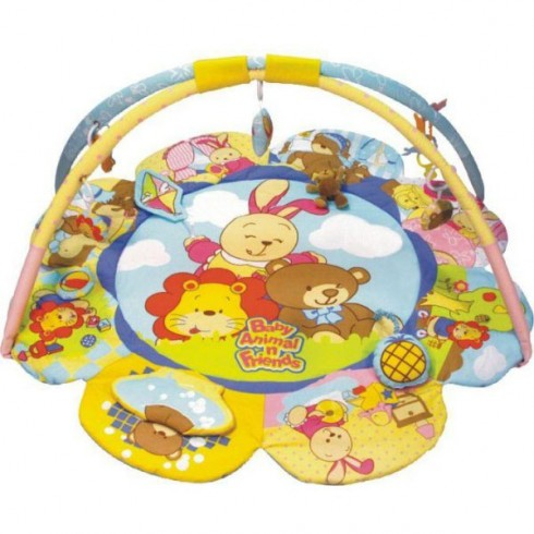 Covoras de joaca Baby Mix Baby Animal