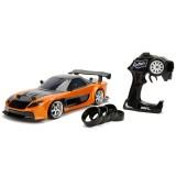 Masina Jada Toys Fast and Furious Mazda RX-7 Drift cu anvelope si telecomanda {WWWWWproduct_manufacturerWWWWW}ZZZZZ]