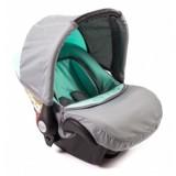 Scaun auto Baby Merc Junior light grey light green