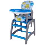 Scaun de masa Kidscare multifuncional blue