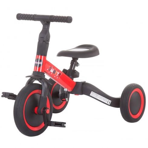 Tricicleta si bicicleta Chipolino Smarty 2 in 1 red {WWWWWproduct_manufacturerWWWWW}ZZZZZ]