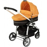 Carucior Kiddy Click n Move II 2 in 1 orange
