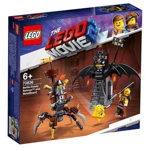 LEGO The Movie Batman si Barba Metalica 70836