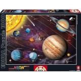 Puzzle Educa Sistemul Solar 1000 Piese