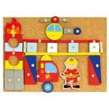 Set lucru manual Bino Pompierii