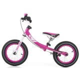 Bicicleta fara pedale Milly Mally Young pink