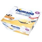 Budinca Humana cu gust de vanilie de la 10 luni 4x100 g