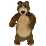 Jucarie de plus Simba Masha and the Bear, Bear in picioare 25 cm