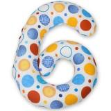 Perna de alaptat BabyNeeds Enjoy multifunctionala Cerculete colorate
