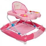 Premergator cu sistem de balansare Sun Baby Ursulet roz