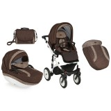 Carucior Bertoni - Lorelli Mia Air 2 in 1 brown