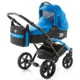 Carucior Volkswagen Polo Knorr-Baby 2 in 1 albastru
