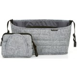 Geanta organizator ABC Design graphite grey