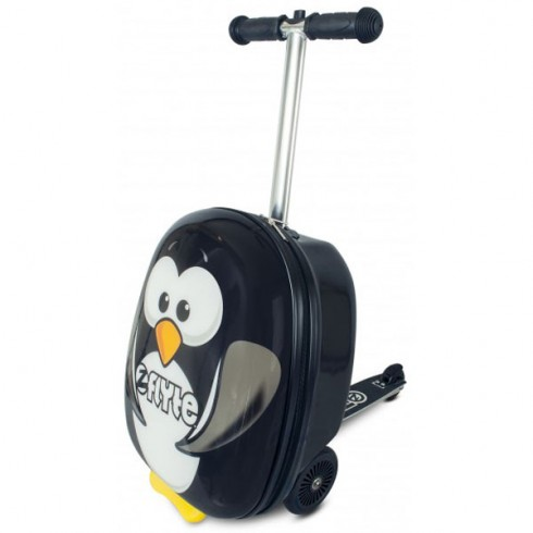 Trotineta cu rucsac Zinc Flyte scooter & case 2 in 1 Percy the Penguin