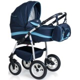 Carucior MyKids Germany 3 in 1 bleumarin