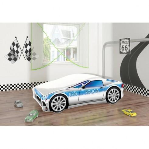 Patut MyKids Race Car 09 Policja 140x70
