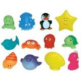 Set 12 jucarii de baie Ludi animale marine