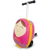 Trotineta cu rucsac Zinc Flyte scooter & case 2 in 1 Betty pink