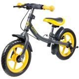 Bicicleta fara pedale Lionelo Dan Plus yellow