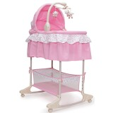 Cos si leagan Moni Bassinet Nap 3 in 1 pink