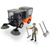Masina Dickie Toys Playlife Street Sweeper cu figurina si accesorii {WWWWWproduct_manufacturerWWWWW}ZZZZZ]