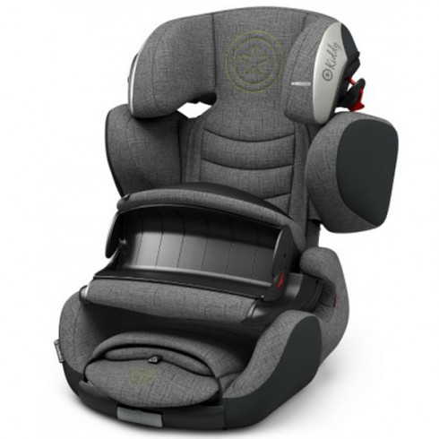 Scaun auto Kiddy Guardianfix 3 cu Isofix grey melange super green