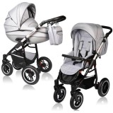 Carucior Vessanti Crooner Prestige 2 in 1 light gray