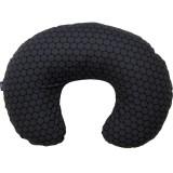Perna de alaptat Womar Comfort Exclusive 140 cm negru gri inchis