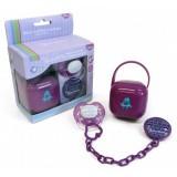 Set Thermobaby suzeta cu accesorii purple