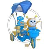 Tricicleta cu copertina Eurobaby 2801ac 236ac albastru
