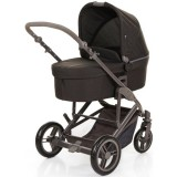 Carucior Circle ABC Design Catania 4 2 in 1 woven black