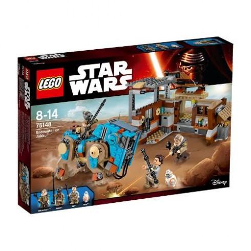 LEGO Star Wars Confruntare pe Jakku 75148
