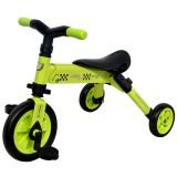 Tricicleta DHS B-Trike 2 in 1 verde