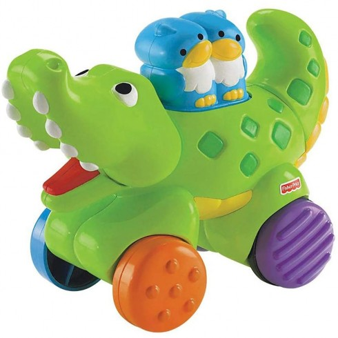 Jucarie Fisher Price by Mattel Infant Press and Go Crocodil {WWWWWproduct_manufacturerWWWWW}ZZZZZ]