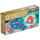 Set constructie Geomag Magnetic Glitter 22 piese