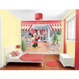 Tapet Walltastic Minnie Mouse