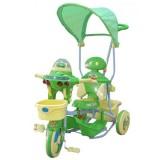 Tricicleta cu copertina Eurobaby 2890ac verde
