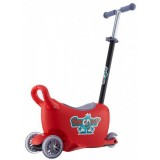 Trotineta Milly Mally Snoop 3 in 1 red