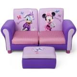 Canapea Delta Children Disney Minnie Mouse 3 in 1