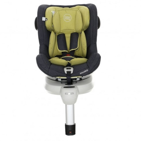 Scaun auto Coto Baby Solario cu Isofix melange olive
